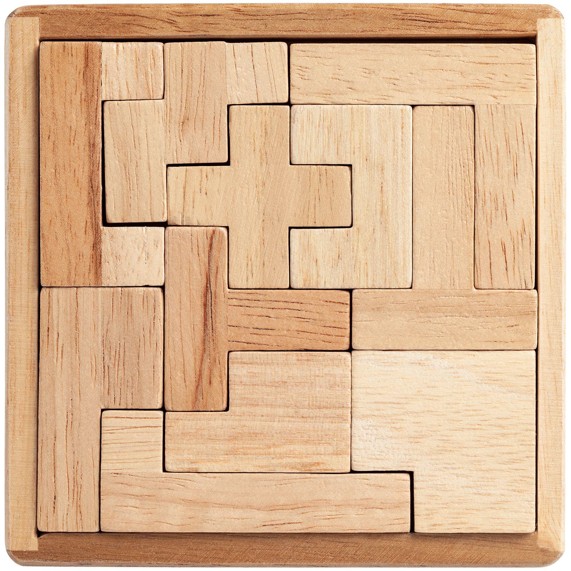 Деревянная картинка из четырех частей