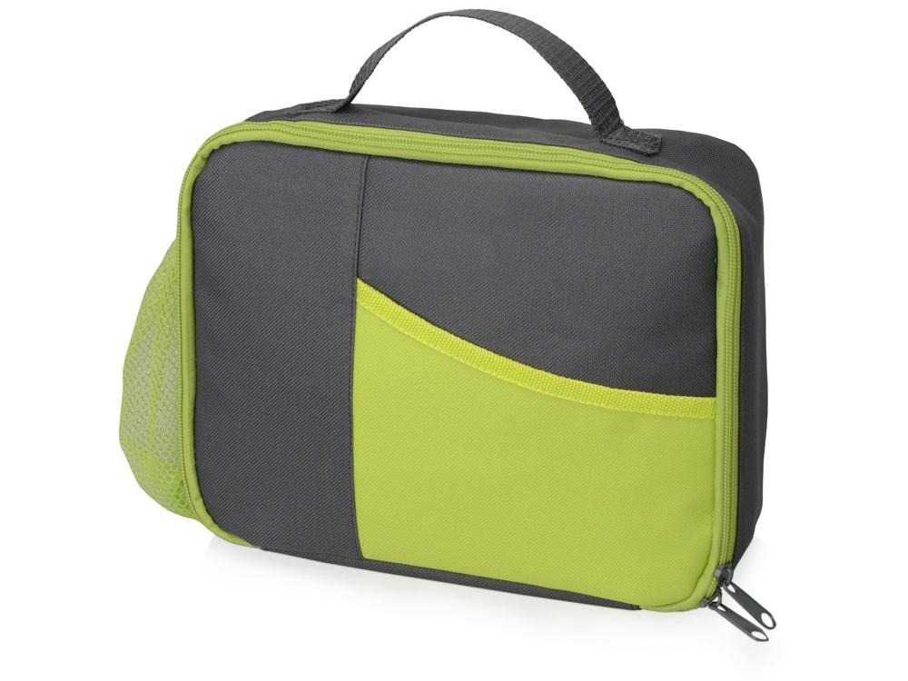 f007d7c8f391 Изотермическая сумка-холодильник «Breeze» для ланч бокса, зеленая