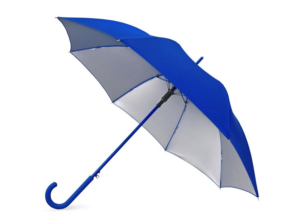 23ad81d7a030 Зонт-трость «Silver Color» - с логотипом: купить оптом в Москве по ...