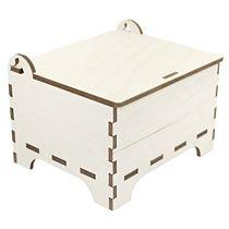 Деревянная упаковочная коробка «Шкатулка»
