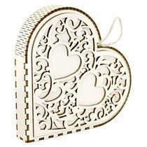 Деревянная упаковка «Сердце»