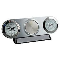 Часы настольные с мировым временем «Ист-Вест»
