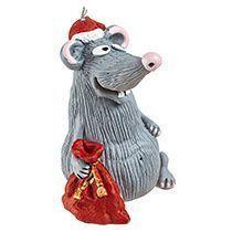 Свеча «Santa Mouse»