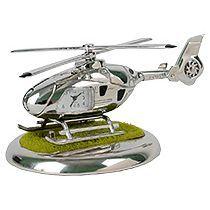 Часы «Вертолет» с посадочной площадкой