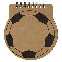 Блокнот в виде футбольного мяча