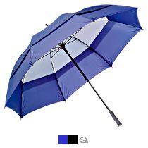 Зонт-трость «Degna» Slazenger с двойным куполом, механический
