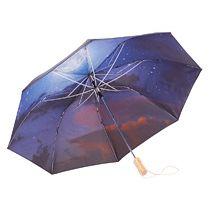 Зонт складной «Clear night sky», полуавтомат