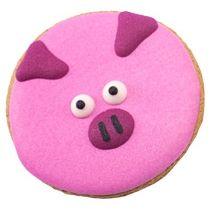 Имбирный пряник «Свинка круглая лупоглазая»