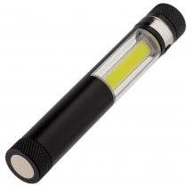 Фонарик-факел LightStream, малый, чёрный
