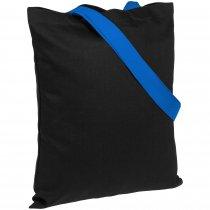 Холщовая сумка BrighTone, ярко-синяя