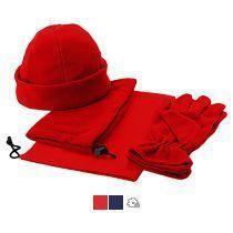 Набор «Dickson»: шапка, перчатки и шарф-воротник