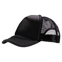 Бейсболка «Trucker Black»