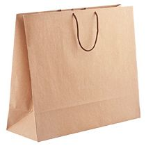 Бумажный пакет «Крафт», большой