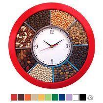 Часы пластиковые круглые 290 мм со специями