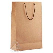 Бумажный пакет «Крафт», средний