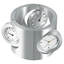 Часы с термометром и гигрометром «Трио»