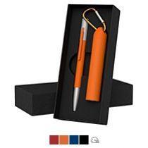 Набор ручка «Clas» + зарядное устройство «Minty» 2800 mAh в футляре