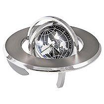 Часы «Полушарие» с картой мира