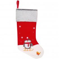 Носок для подарков «Noel», с пингвинами