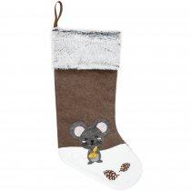Носок для подарков «Noel», с мышкой