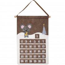 Адвент-календарь «Noel», с мышкой