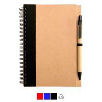 Блокнот с ручкой «Econot»