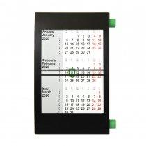 Настольный календарь на 2 года с цветными элементами