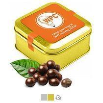 Кофейное зерно в шоколаде, 100 г (в жестяной банке)