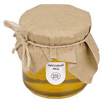 Мед натуральный «Липовый» в подарочной обертке