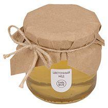 Мед натуральный «Цветочный» в подарочной обертке