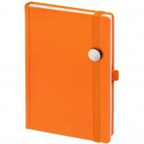 Ежедневник Favor Metal, оранжевый