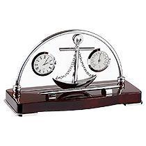 Настольный прибор «Океан»: часы, термометр, ручка