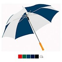 Зонт-трость «Lisa», двухцветный, полуавтомат
