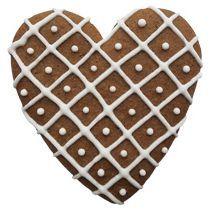 Имбирный пряник «Сердечко вафельное»