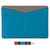 Холдер для паспорта и карт «EMOTION», голубой