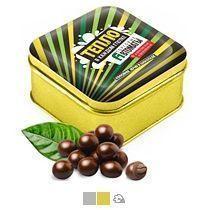 Кофейное зерно в шоколаде, 100 г (в жестяной банке с прямой печатью)