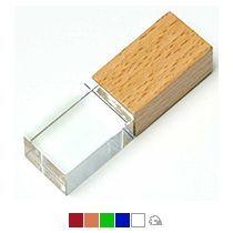 Флеш-накопитель прямоугольной формы, под гравировку 3D логотипа