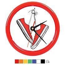 Часы настенные «Print» для рекламной вставки