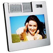 Часы с рамкой для фото «Мгновение»