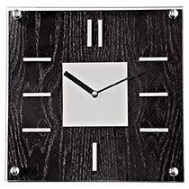 Часы настенные «Черное дерево»