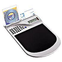 Коврик для мышки с калькулятором и подставкой под визитки