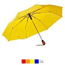 Зонт «Wood», полуавтомат, 3 сложения