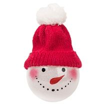 Шар новогодний «Snowman»