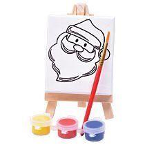 Набор для раскраски «Дед Мороз»