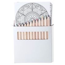 Набор цветных карандашей «Boltex» с раскрасками