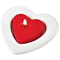 Набор свечей в форме сердца «Love»