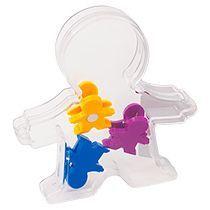 Держатель для заметок с разноцветными магнитами