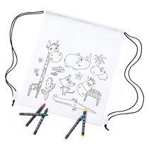 Рюкзак для раскрашивания «Wizzy» с восковыми мелками (5 шт.)