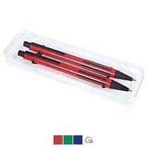 Набор «Future»:ручка и карандаш в прозрачном футляре