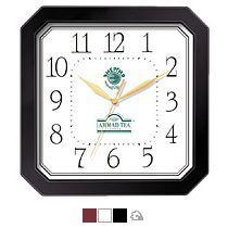 Часы квадратные со скошенными углами 290x290 мм